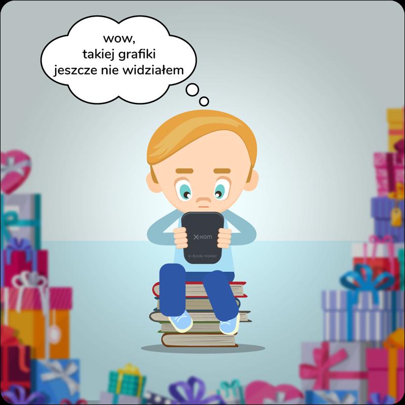 Czytnik e-booków - prezent na komunię