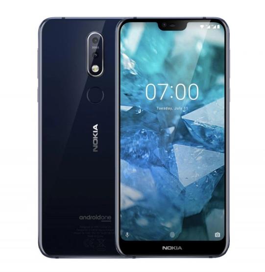 Nokia 7.1 niebieska