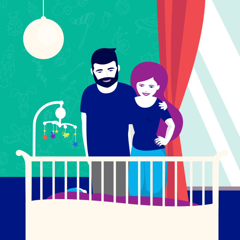 Wyprawka porodowa - jakie akcesoria do snu?
