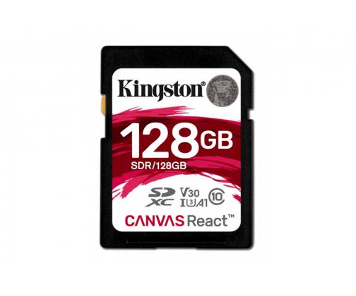 Kingston 128GB SDXC Canvas React