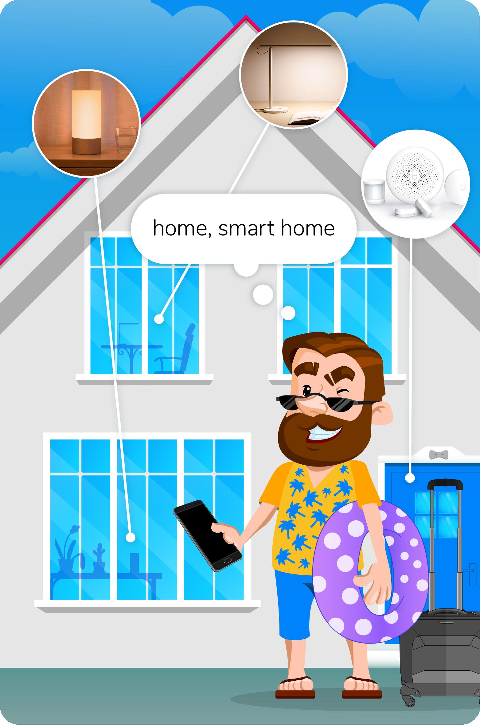 system smart home w małym mieszkaniu