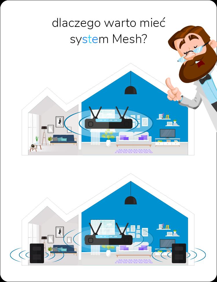 Dlaczego warto mieć system Mesh