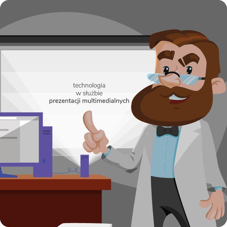 Urządzenia do prezentacji do biura