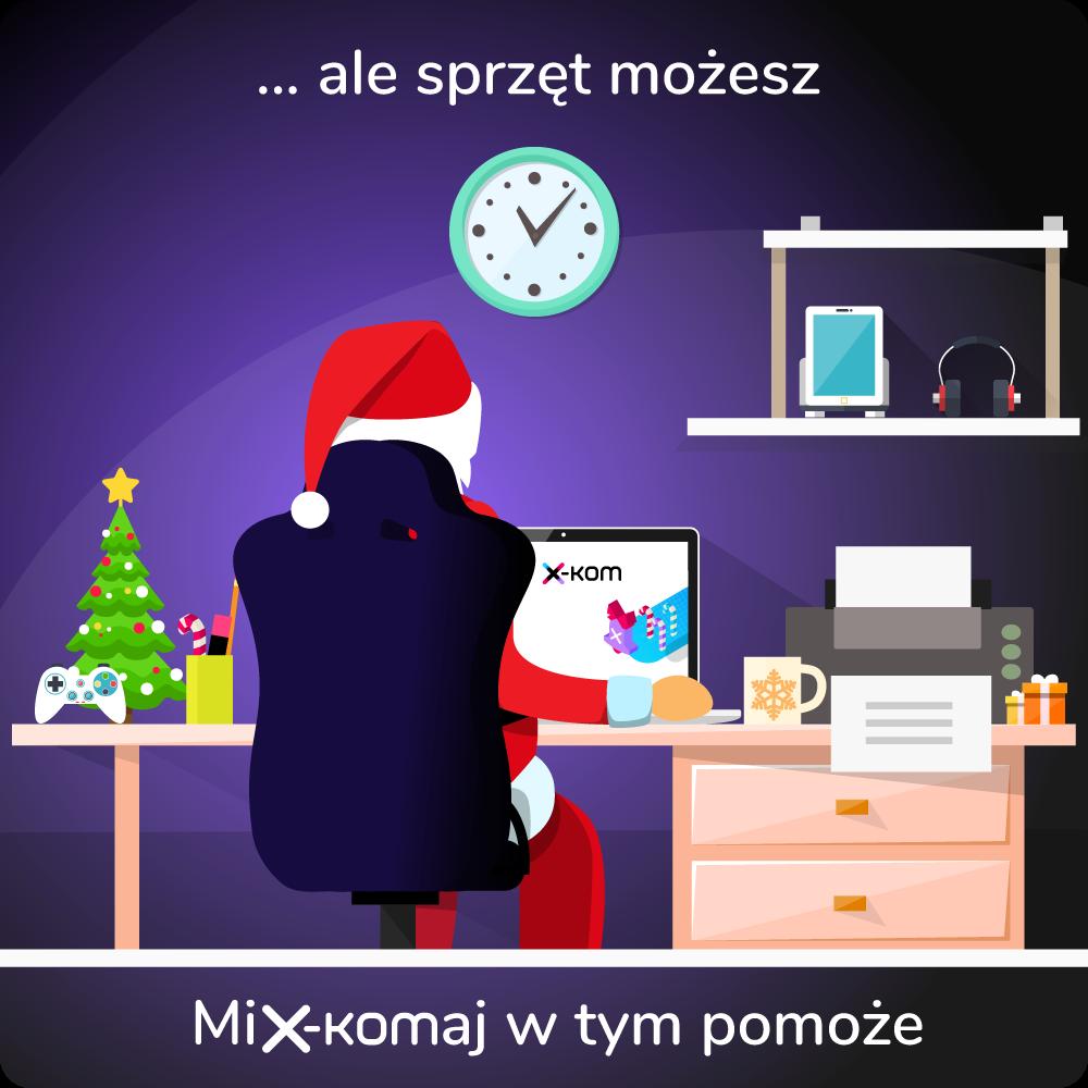 Promocja świąteczna w sklepie x-kom