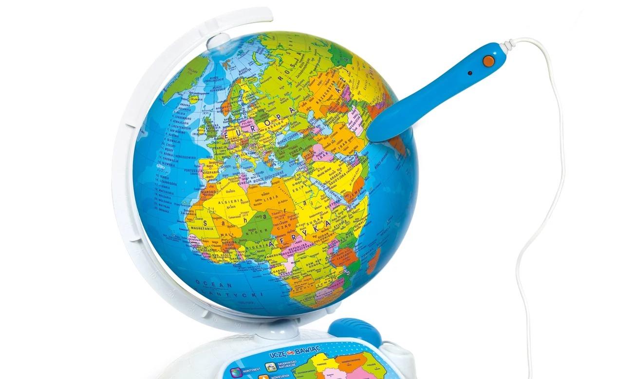clementoni globus interaktywny