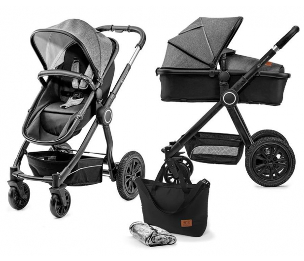 Kinderkraft Veo 2w1 Black/Gray