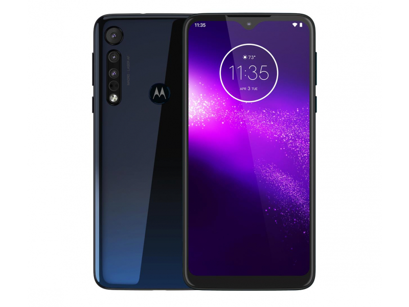 Motorola One Macro 4/64GB Dual SIM IPX2 Space Blue + etui