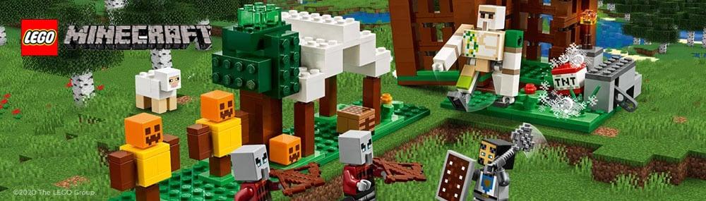 zabawy z lego minecraft wieza