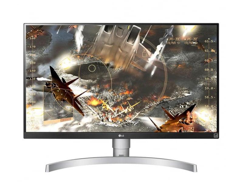 LG 27UL650-W 4K HDR