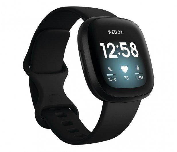 Fitbit Versa 3 czarna + Fitbit Premium