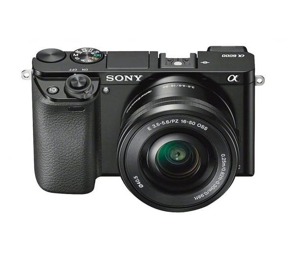 Sony ILCE A6000 + 16-50mm czarny