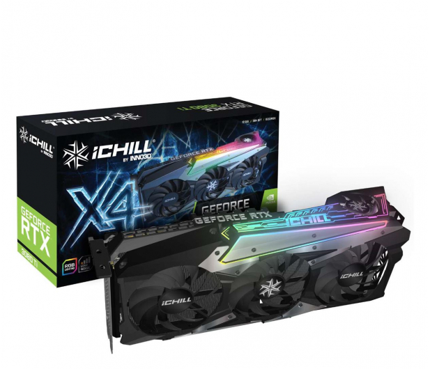 Inno3D GeForce RTX 3080 Ti ICHILL X4 12GB GDDR6X