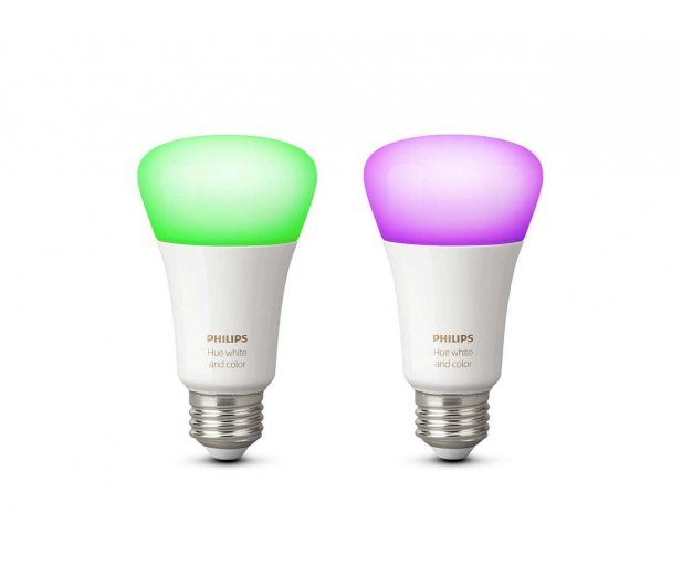 Philips Hue White and Color Ambiance (2szt. E27 9W )