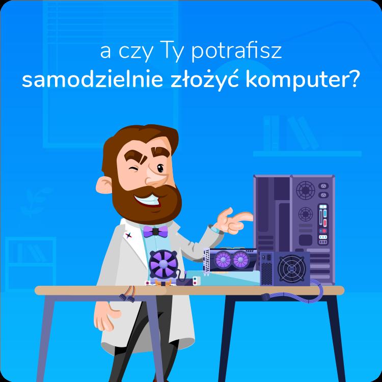 jak samodzielnie złożyć komputer