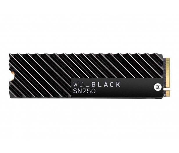 WD 1TB M.2 PCIe NVMe Black SN750 Heatsink