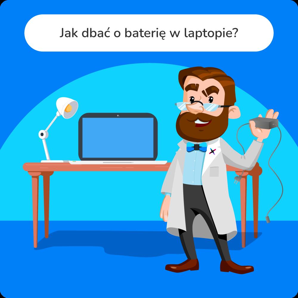 jak dbać o baterię w laptopie